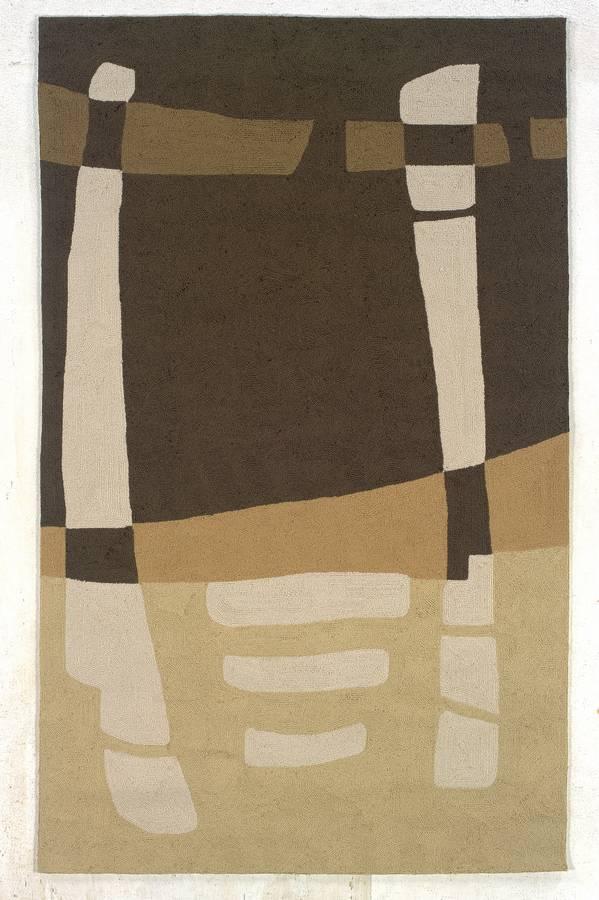 Indoor & Outdoor - Stone Henge - Brown-Sage - Hellenic Rug