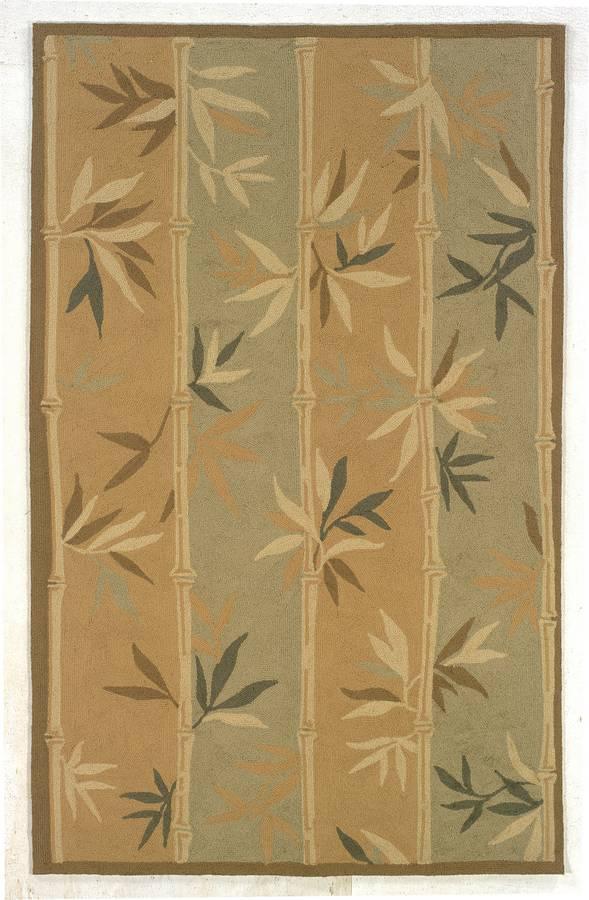 Indoor & Outdoor - Bamboozled - Brown-Sage - Hellenic Rug