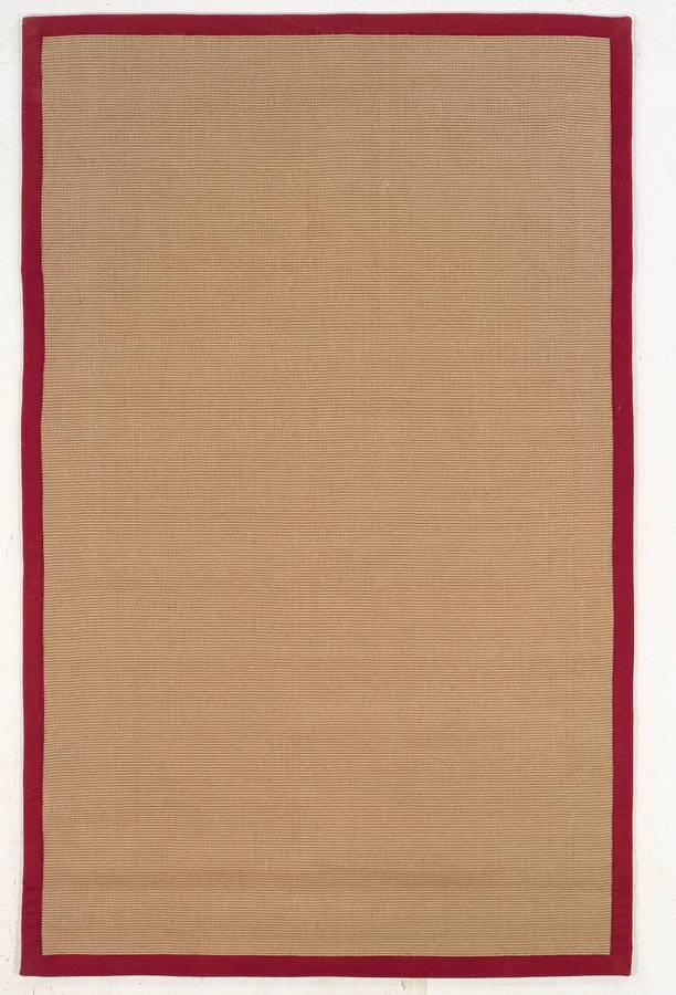Jute - Red - Red - Hellenic Rug