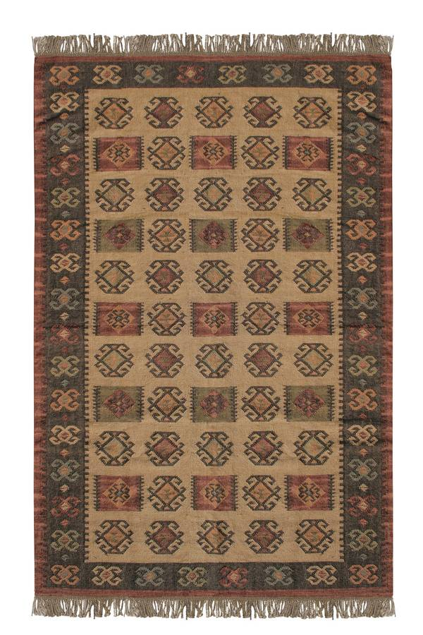 Antique Kilim - Sierra Madre - Honey Gold-Wine - Hellenic Rug