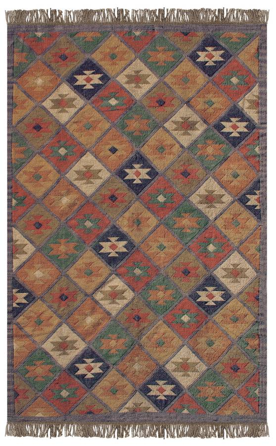 Antique Kilim - Cumberland - Denim - Hellenic Rug