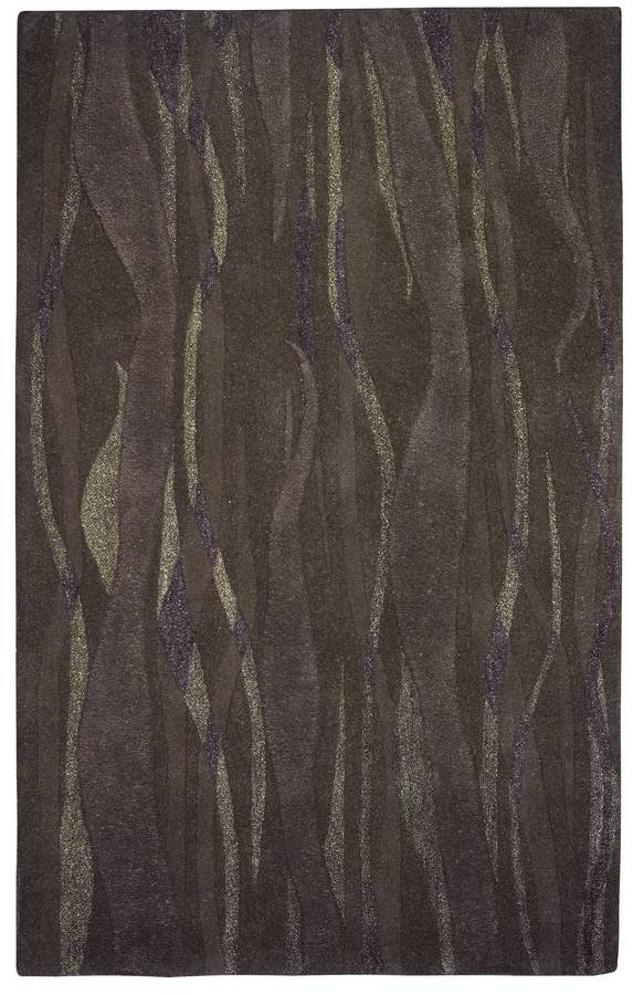 Kontempo - New Wave - Charcoal - Hellenic Rug