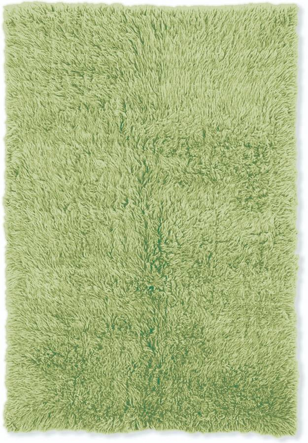 3A Flokati - Lime Green - Hellenic Rug