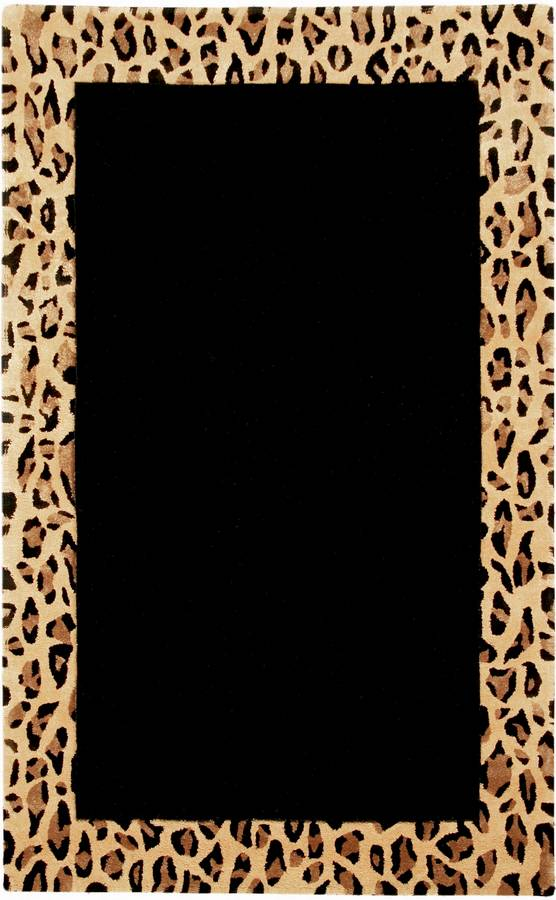 New Age - Majestic - Black-Leopard - Hellenic Rug