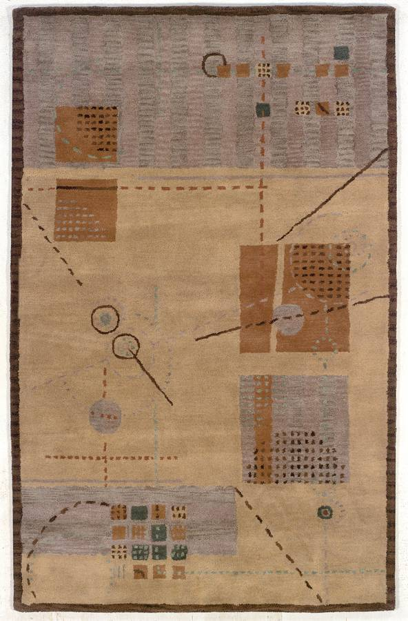 Palermo - Capture - Brown-Taupe - Hellenic Rug