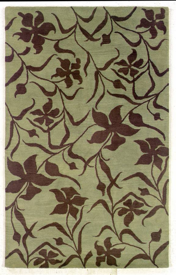 Palermo - Fielded - Mint-Chocolate - Hellenic Rug