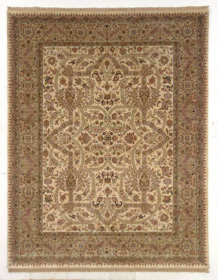 Private Reserve - Tabriz - Ivory - Hellenic Rug