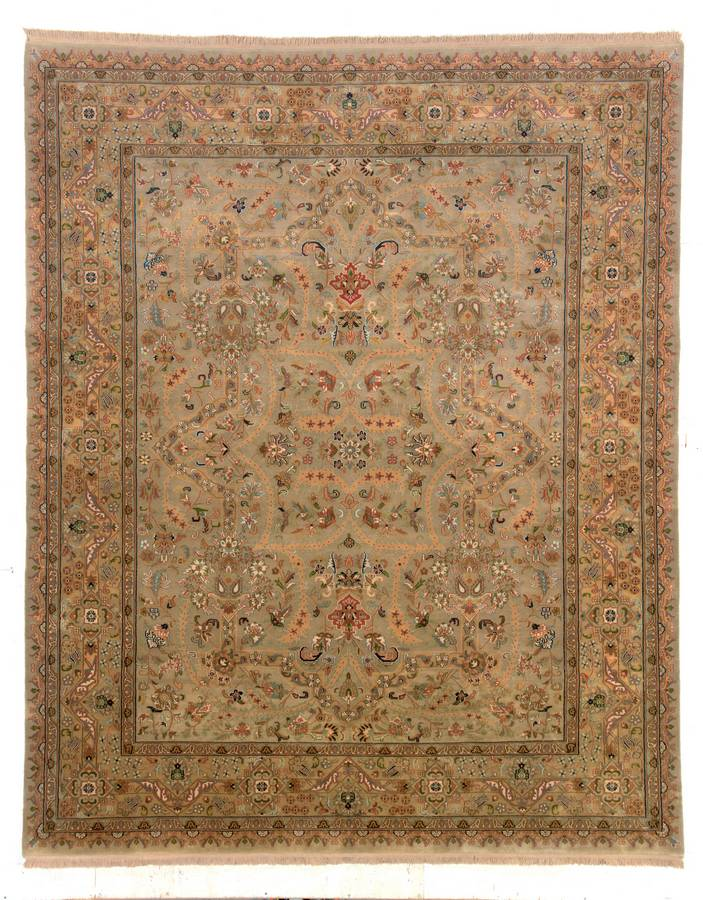 Private Reserve - Tabriz - Gold - Hellenic Rug