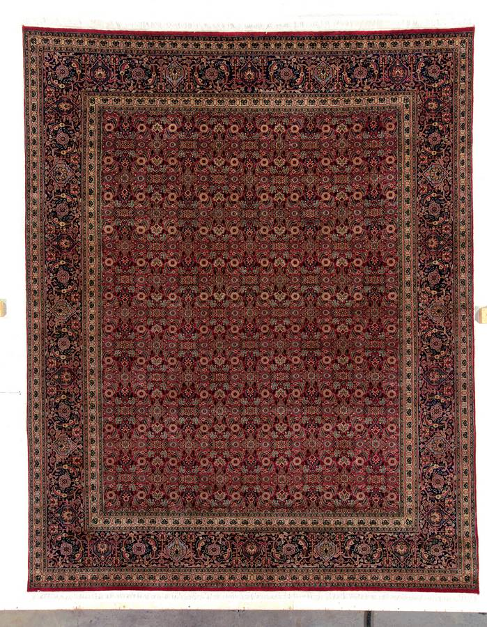 Private Reserve - Isphahan - Rust-Navy - Hellenic Rug