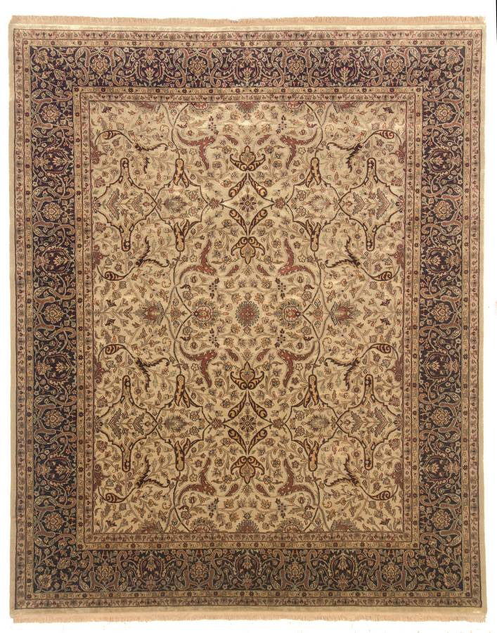Private Reserve - Indira - Ivory-Chocolate - Hellenic Rug