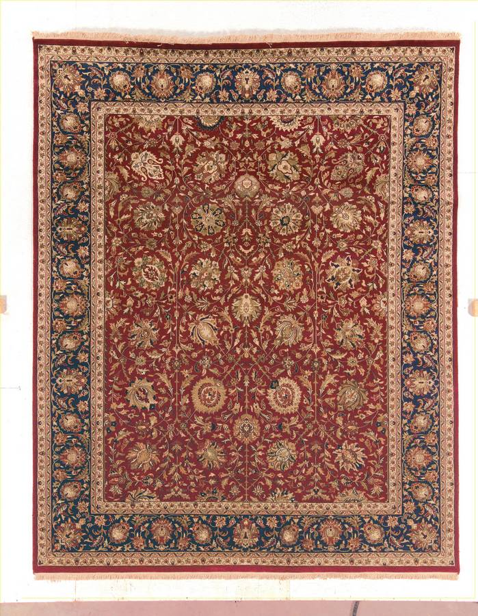 Private Reserve - Rehan - Red-Navy - Hellenic Rug