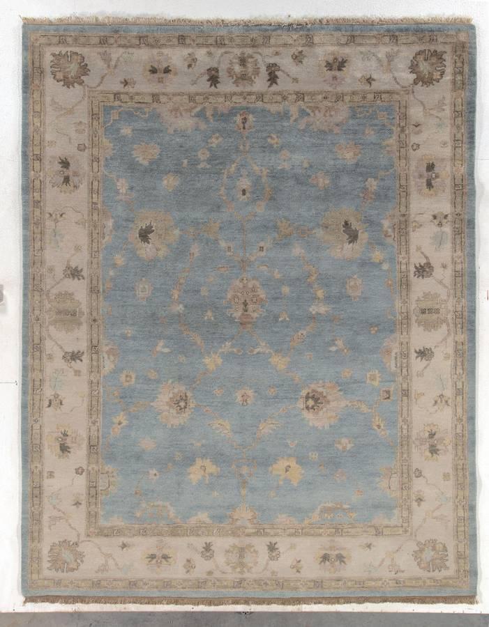 Serapi - Pale Blue-Ivory - Hellenic Rug