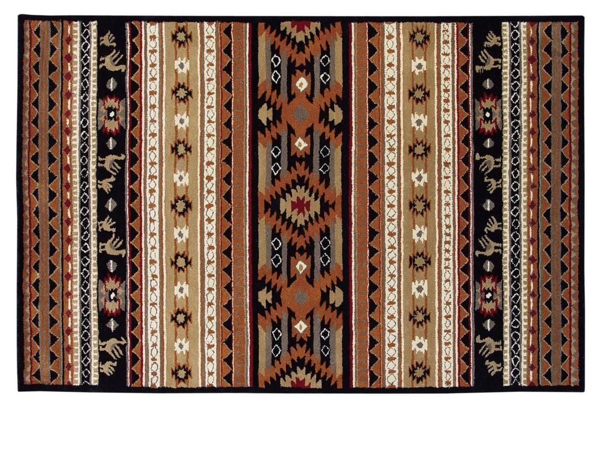 Spirit - Cherokee - Black-Brown - Hellenic Rug