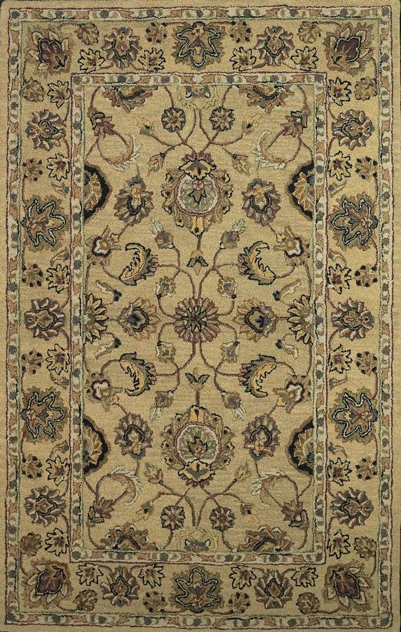 Twisted Wonders - Sovereign - Gold - Hellenic Rug