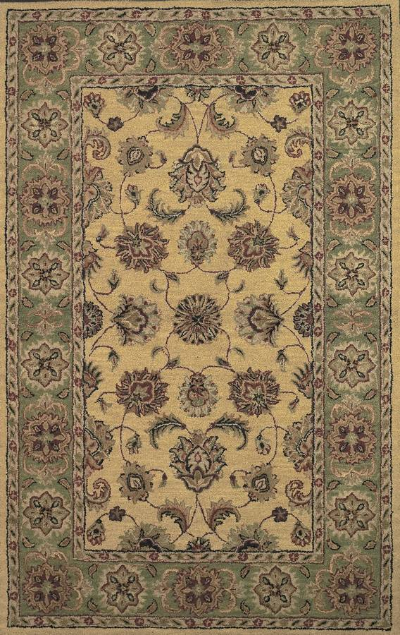 Twisted Wonders - Royal - Gold-Sage - Hellenic Rug