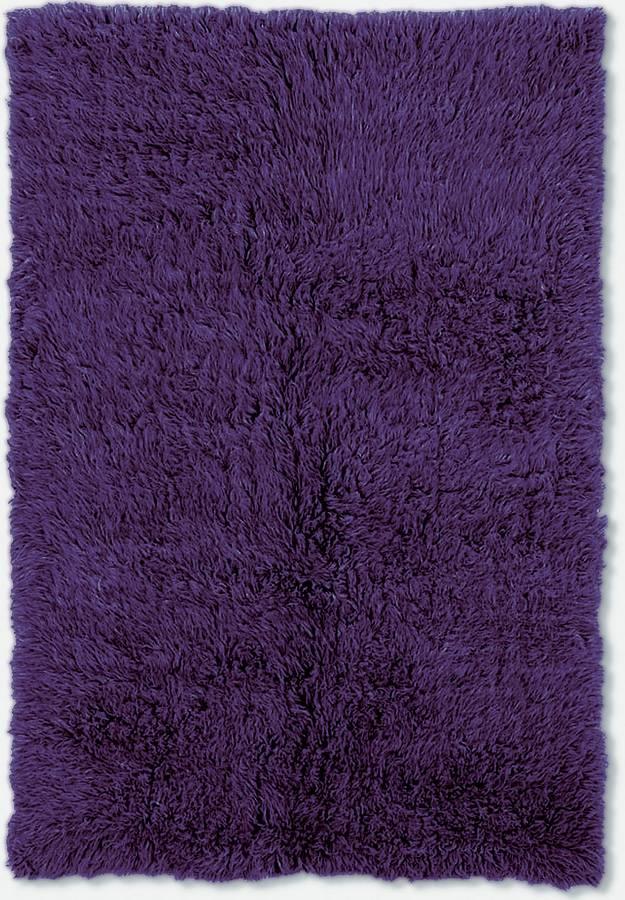 3A Flokati - Vivid Purple - Hellenic Rug