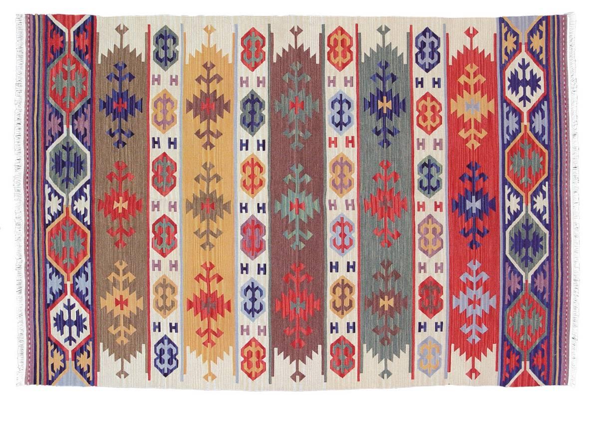 Anatolia Wool Kilims - Marmara - Red Chocolate - Hellenic Rug