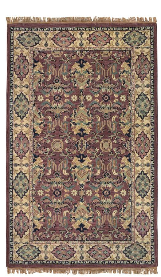 Wonders of the World - Oushak - Rust-Beige - Hellenic Rug