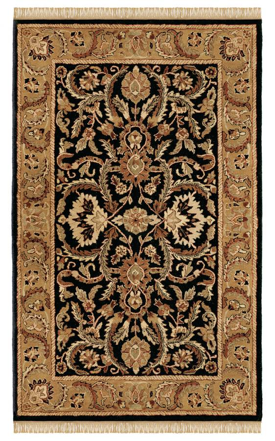 Wonders of the World - Shehran - Black-Gold - Hellenic Rug