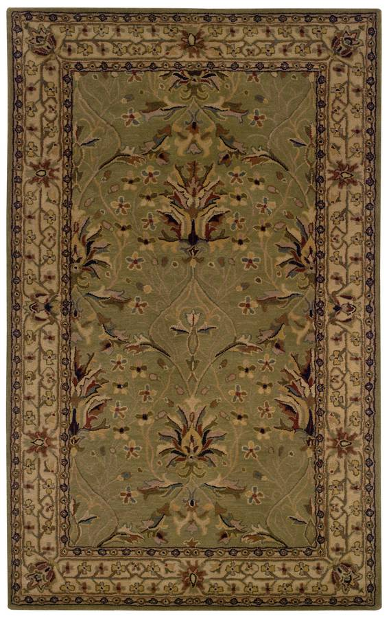 Wonders of the World - Tree of Life - Sage-Ivory - Hellenic Rug