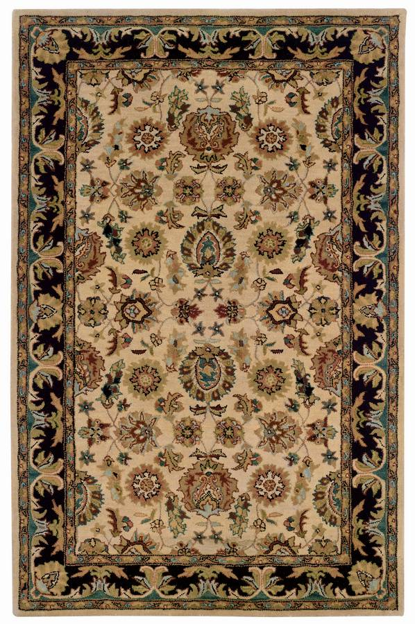 Wonders of the World - Kasmir - Camel-Black - Hellenic Rug