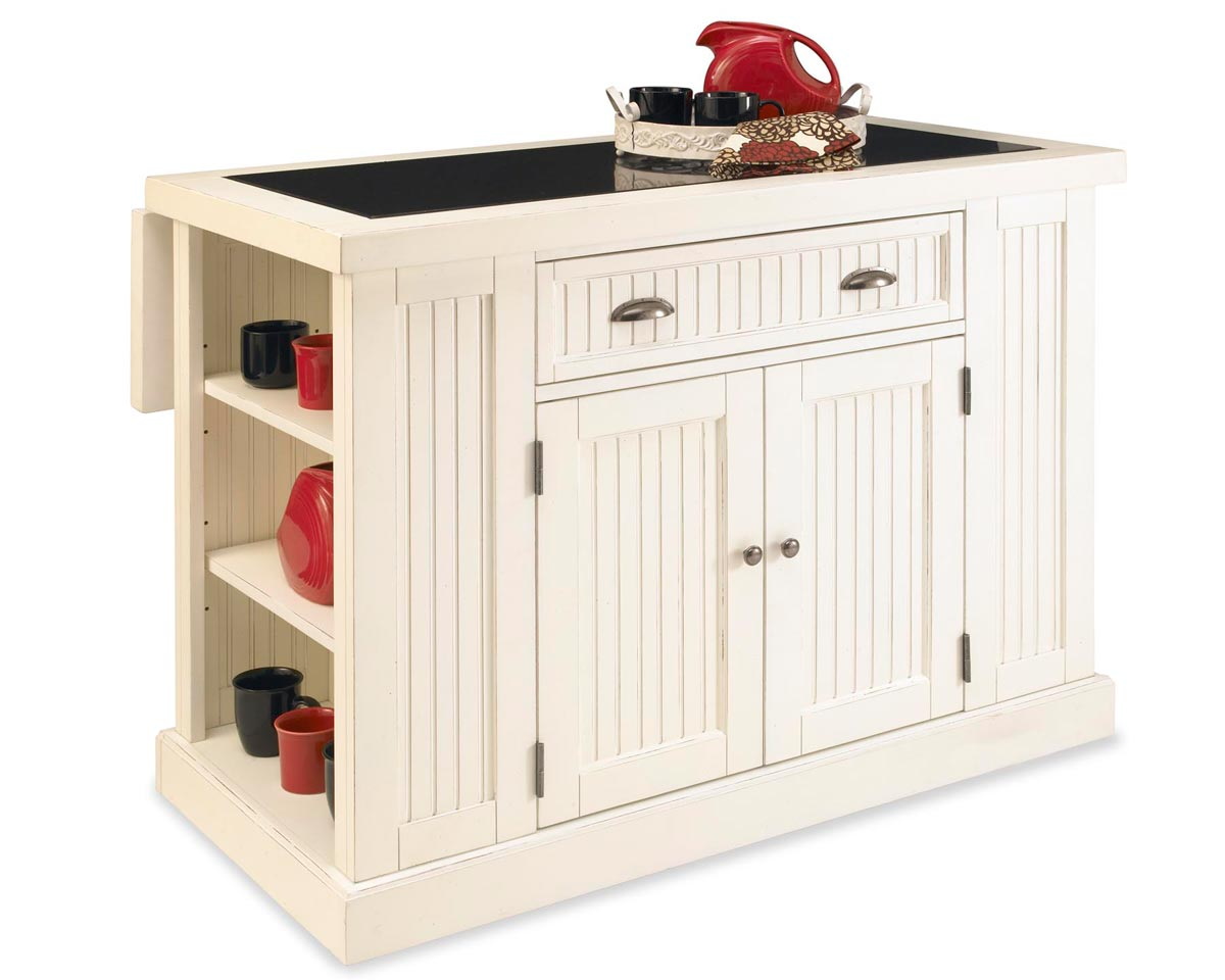 Home Styles Nantucket Kitchen Island - Sanded and ...