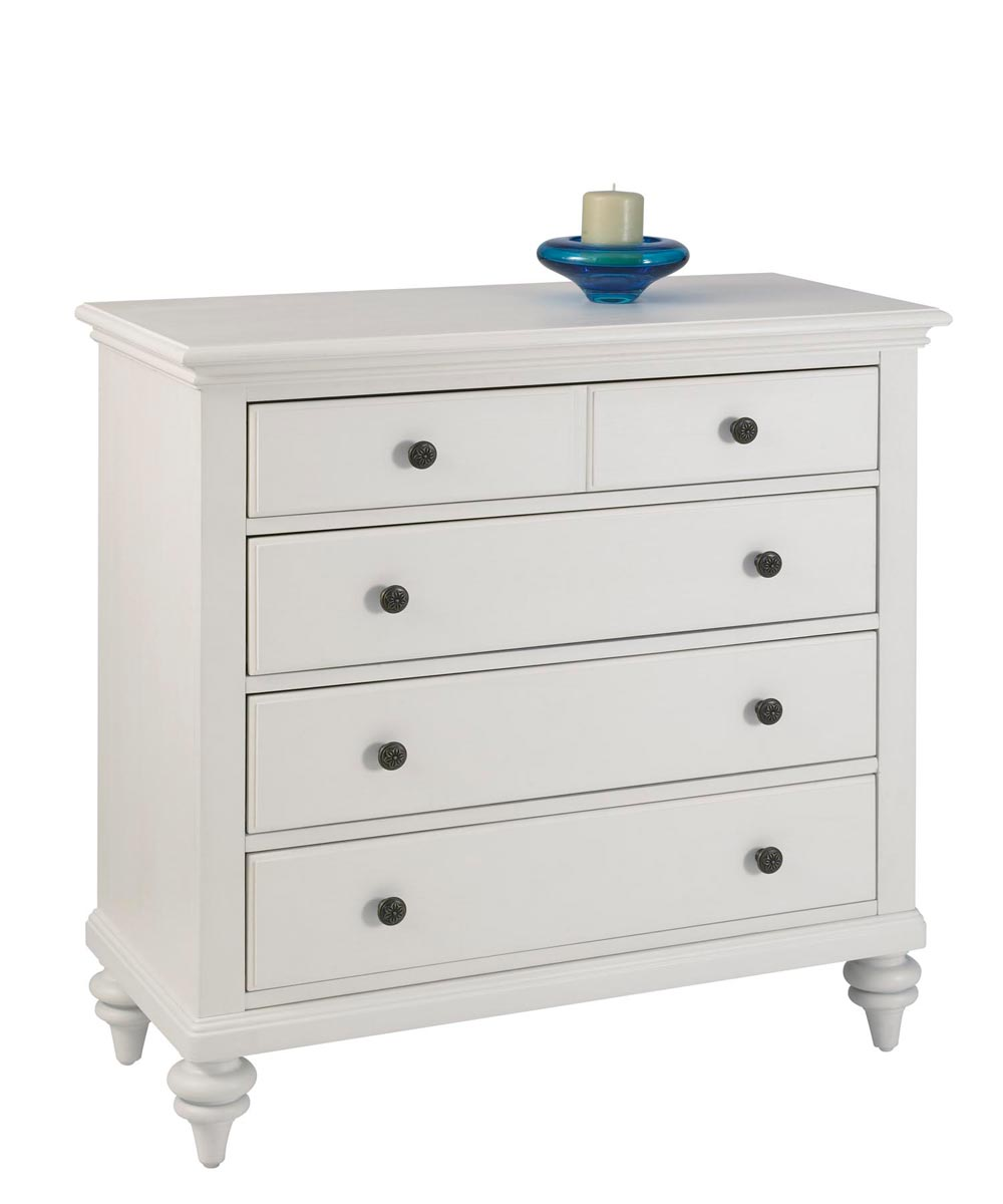 Home Styles Bermuda Chest - Brushed White