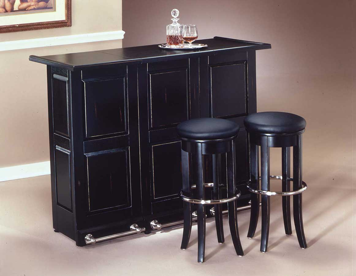 Home Styles Swing Open Folding Bar Black 88 5695 99 At