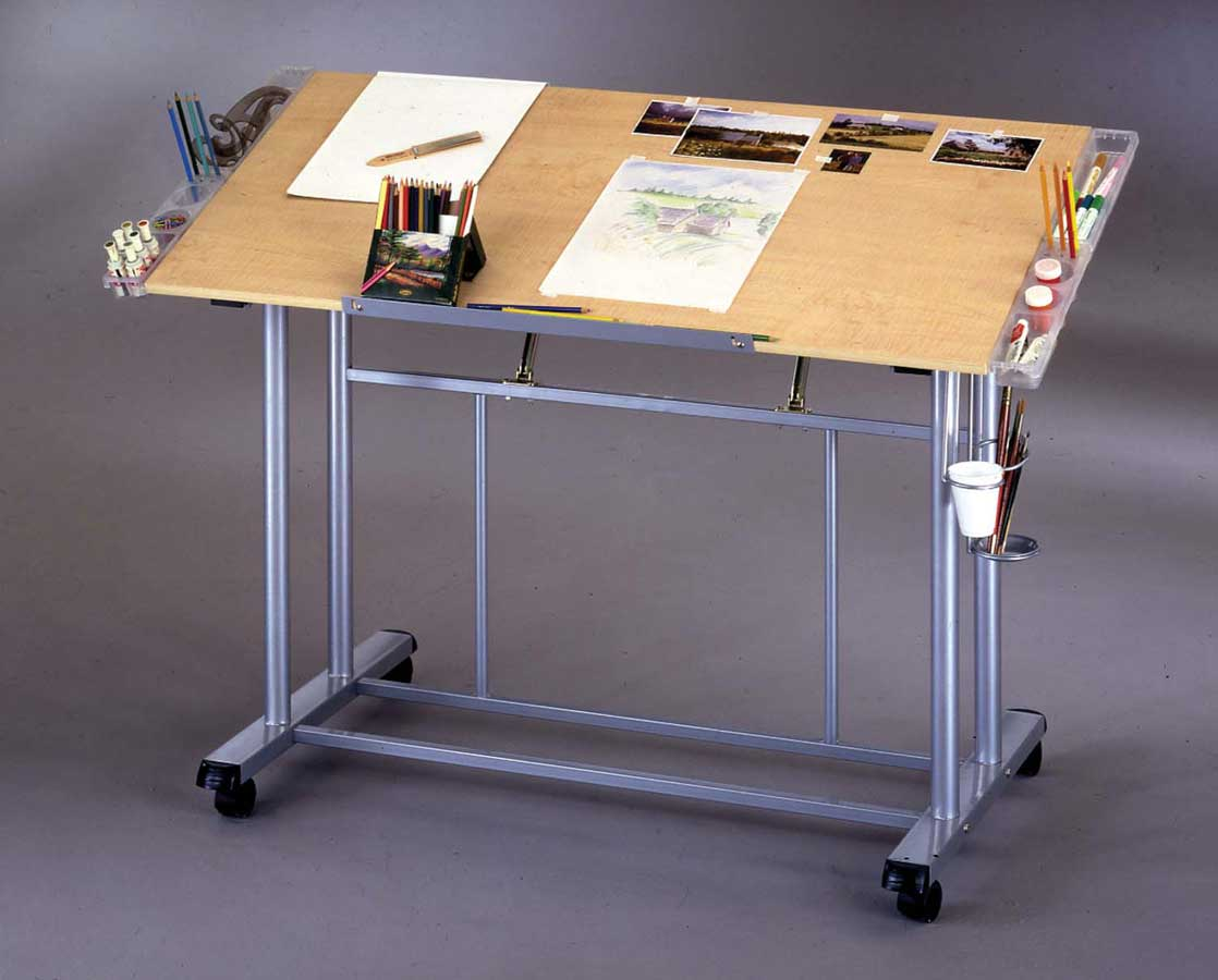 Buy home styles portable sewing and storage table for How to build a craft table with storage