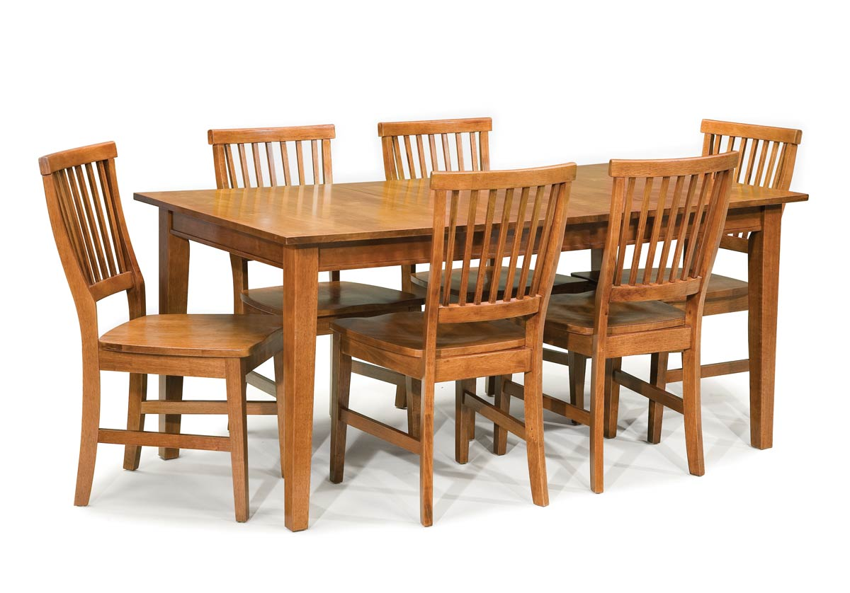 Home styles arts and crafts dining collection cottage for Arts and crafts 5 piece dining set