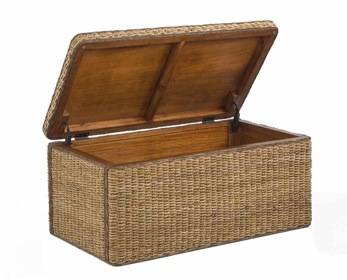 Home Styles Cabana Large Storage Chest - Honey Oak