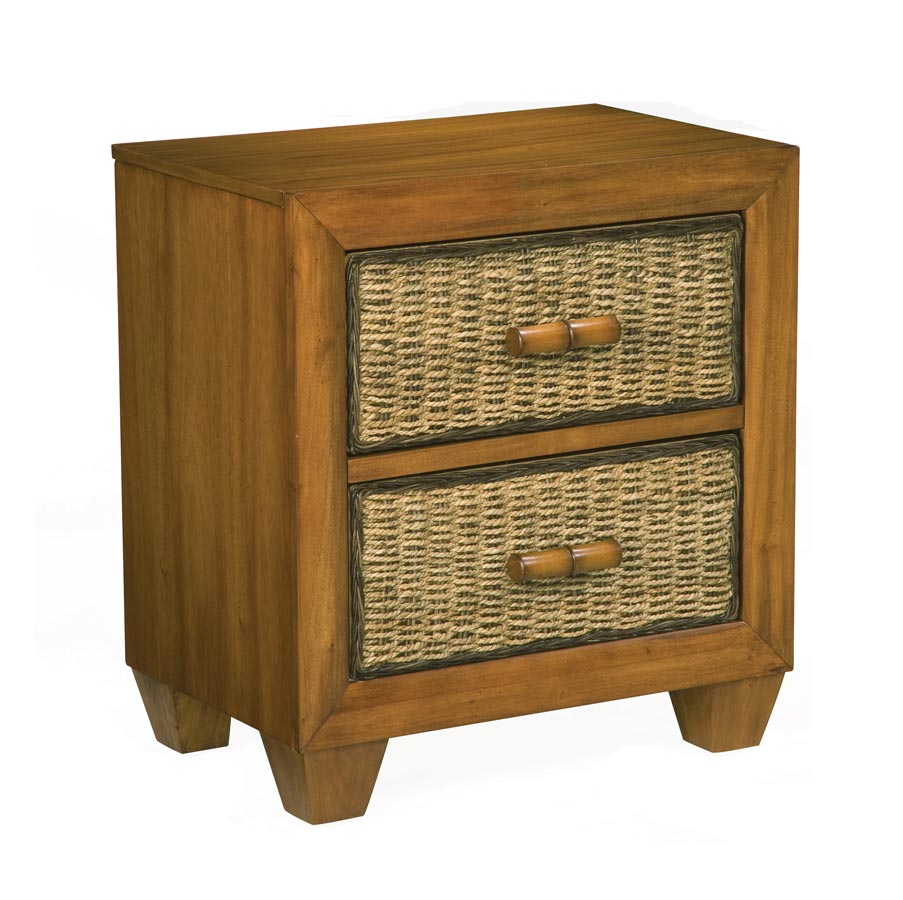 Home Styles Cabana Night Stand - Honey Oak