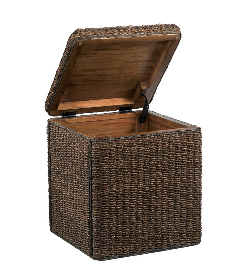 Home Styles Cabana Small Storage Chest - Cocoa