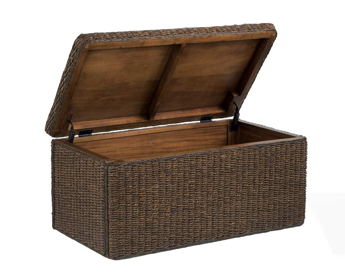 Home Styles Cabana Large Storage Chest - Cocoa