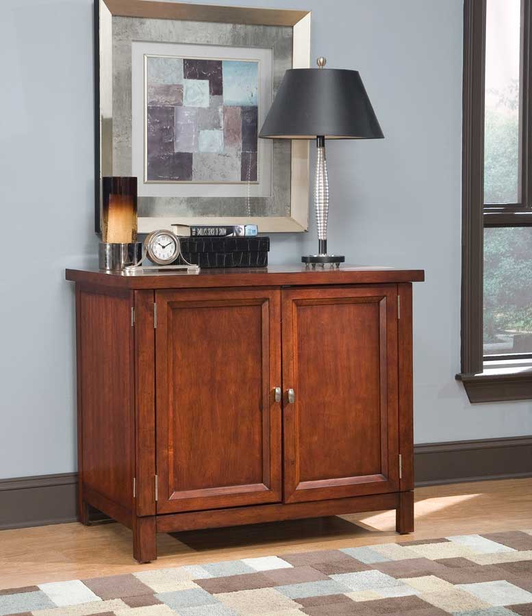 Home Styles Hanover Compact Office Cabinet