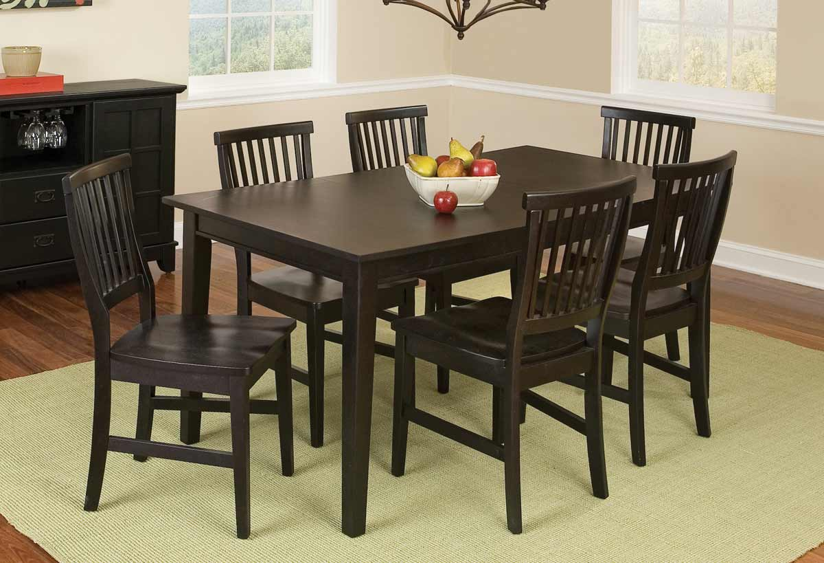 Home Styles Arts and Crafts Dining Collection - Ebony