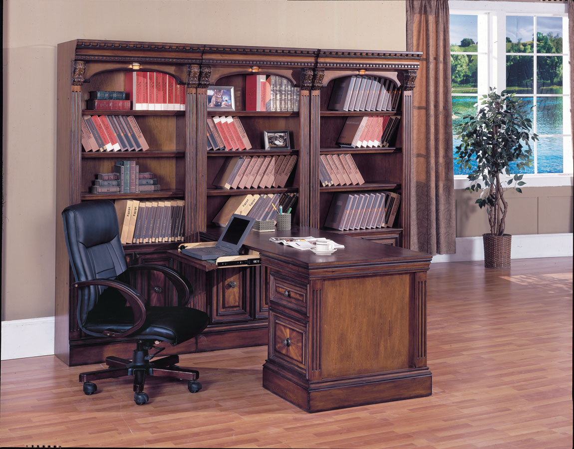 Parker House Huntington 5 Pc Home Office Ph Hun490 5 At