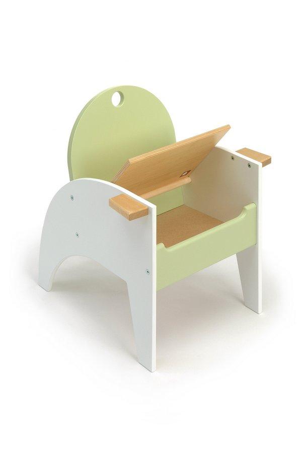 offi Hide-n-sit Armchair - Green