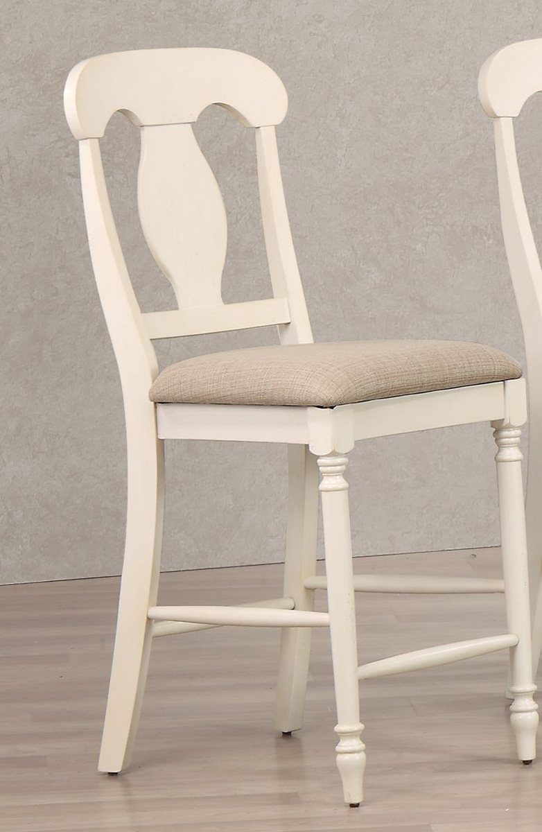 Iconic Furniture Napoleon Back 24 Inch Counter Stool