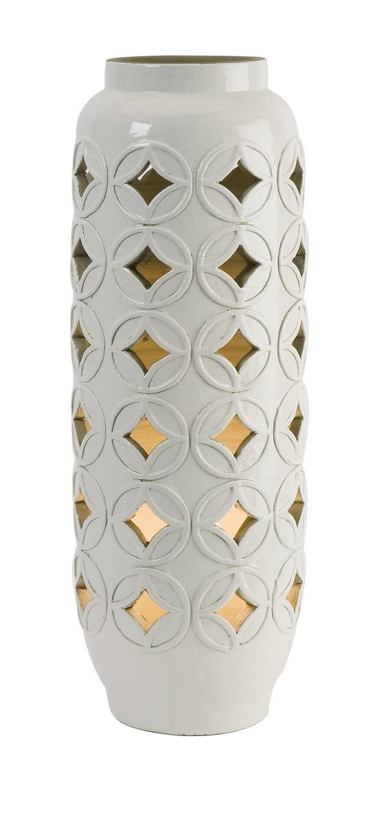 IMAX Calvinia Cutwork Ceramic Lamp