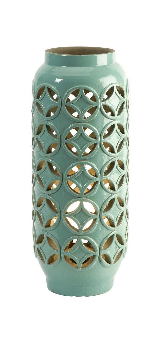 IMAX Creighton Cutwork Ceramic Lamp