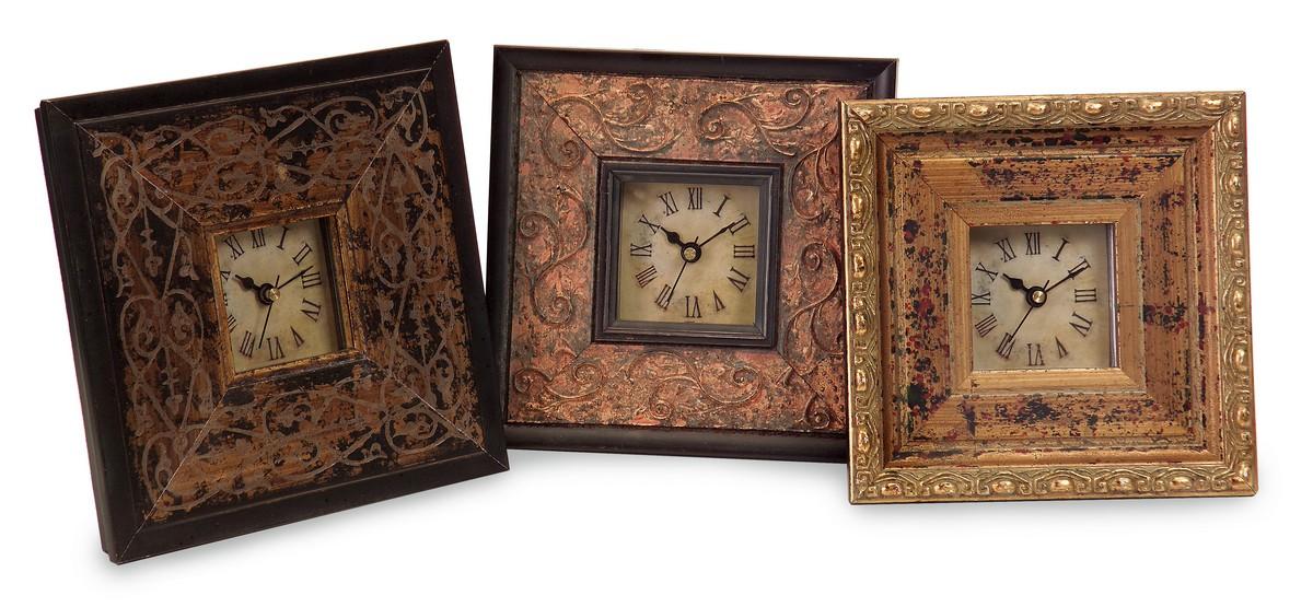 IMAX Tiempo Trio Framed Clocks - Set of 3 21041-3