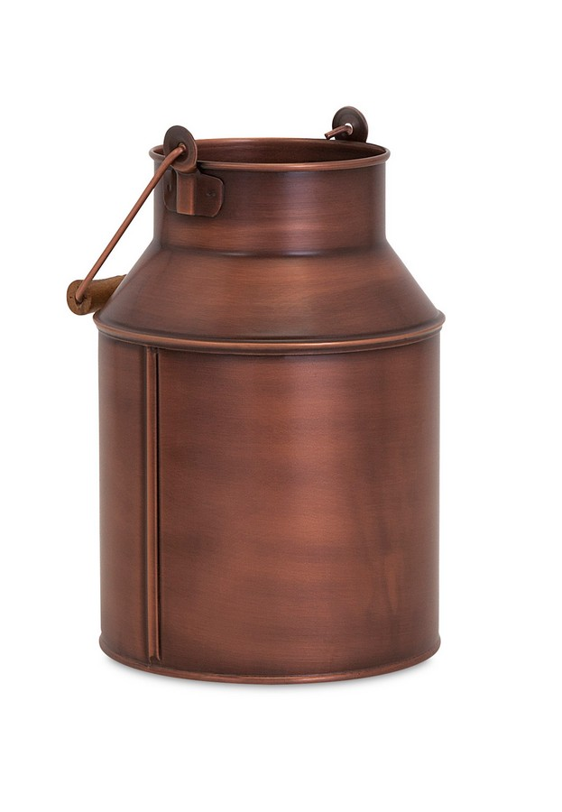 Imax Pindler Copper Plated Milk Can Im  Homelement Com