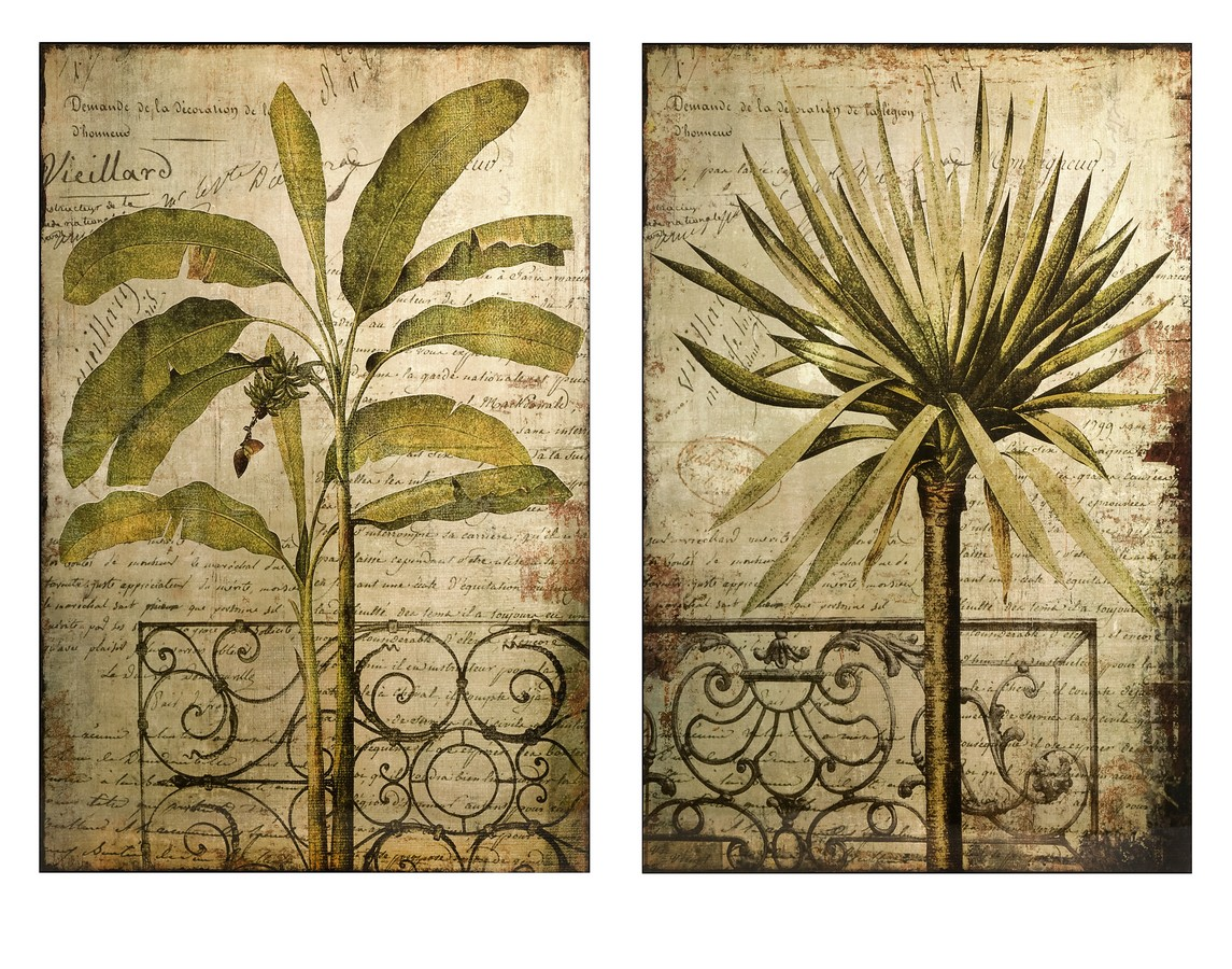 Beautiful Metal Tropical Wall Art Picture Collection - Wall Art ...