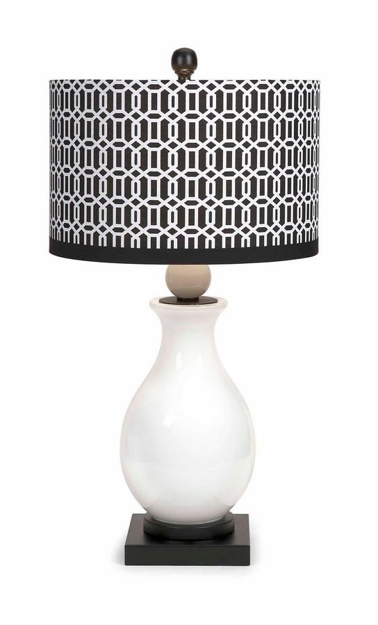 IMAX Agrinio Ceramic Table Lamp