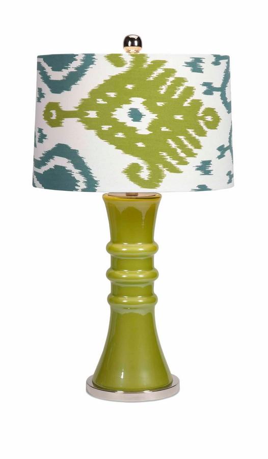 IMAX Megaran Glass Table Lamp
