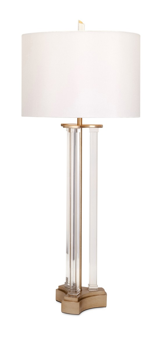 IMAX Calabasas Acrylic Table Lamp