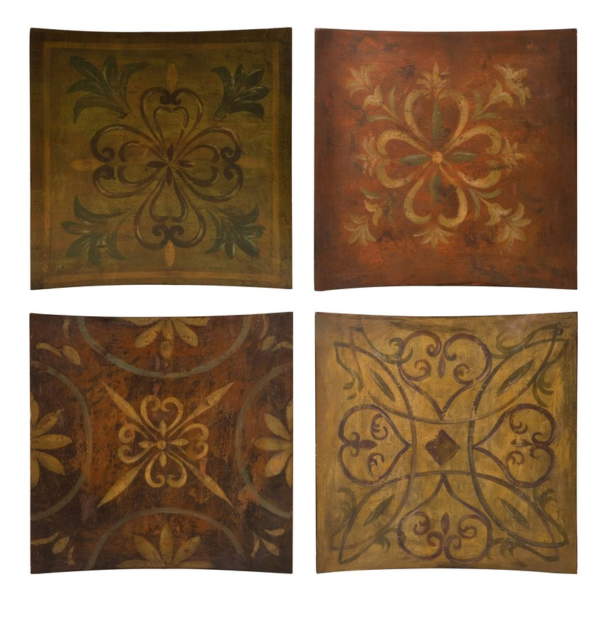 Max Accents 87121 4 Molly Wall Decor Set Of 4