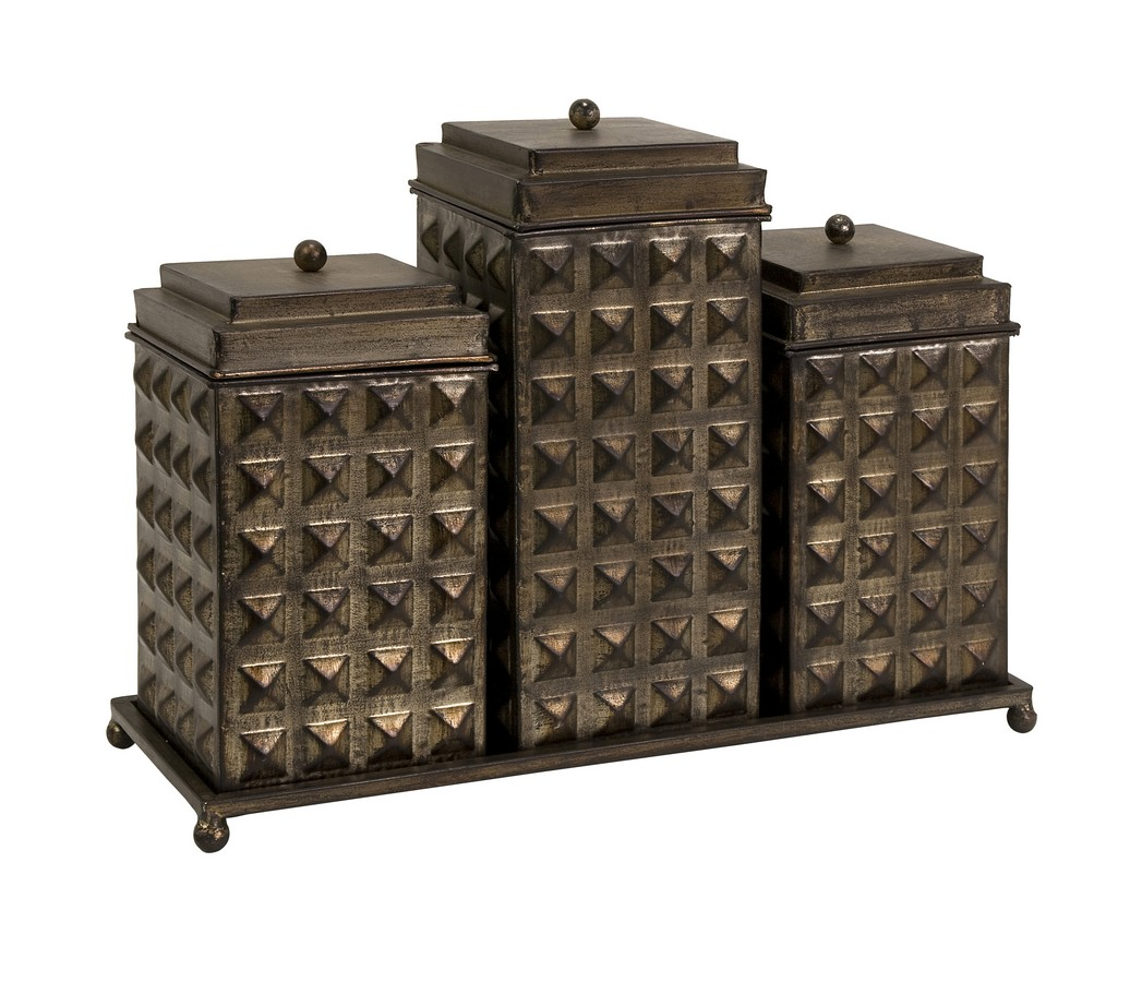 Decorative Boxes And Trays : Imax sullivan decorative boxes with tray