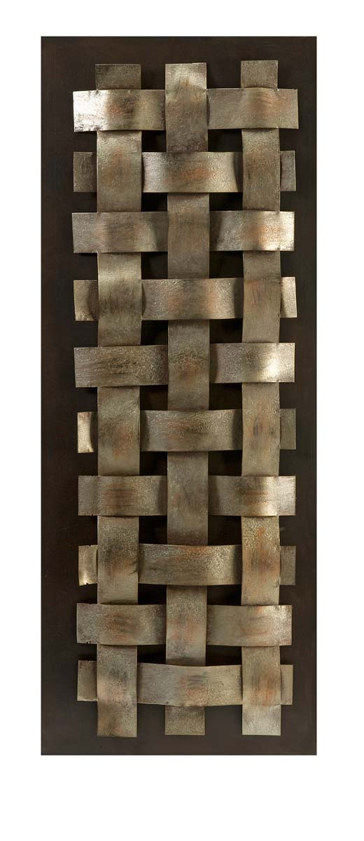 IMAX Munez Woven Metal Wall Decor